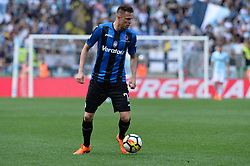 May 6, 2018 - Rome, Italy - Josip Ilicic during the Italian Serie A football match between S.S. Lazio and Atalanta at the Olympic Stadium in Rome, on may 06, 2018. (Credit Image: © Silvia Lore/NurPhoto via ZUMA Press)
