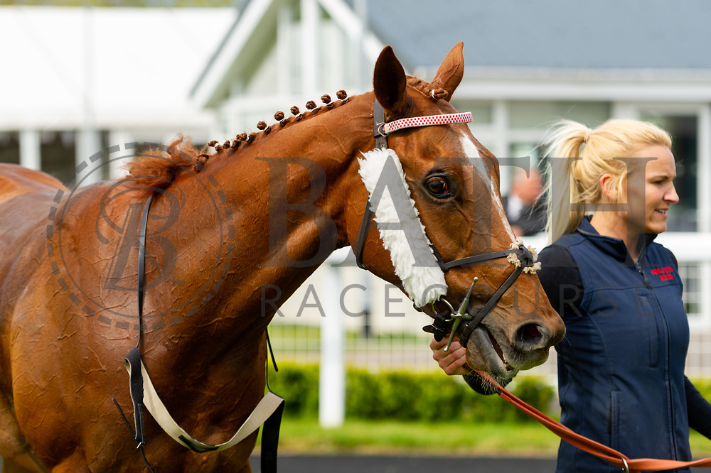 Butterfield ridden by Franny Norton and trained by Tony Carroll in the Empire Fighting Chance Handicap race.   - Ryan Hiscott/JMP - 06/05/2019 - PR - Bath Racecourse- Bath, England - Kids Takeover Day - Monday 6th April 2019