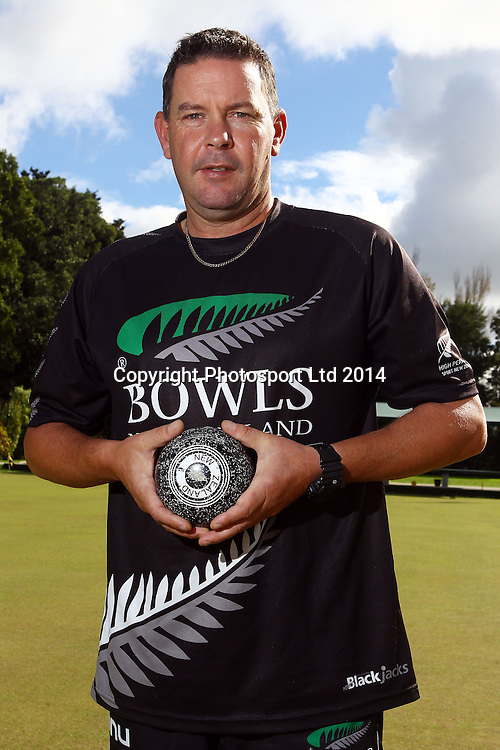 Tony Grantham, Mens Triples, New Zealand Bowls team announcement ahead of the 2014 Glasgow Commonwealth Games in Scotland. Carlton Cornwall Bowing Club, Auckland. 22 April 2014. Photo: William Booth/www.photosport.co.nz