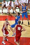 DESCRIZIONE : Firenze I&deg; Torneo Nelson Mandela Forum Italia Bulgaria<br /> GIOCATORE : Stefano Mancinelli<br /> SQUADRA : Nazionale Italia Uomini <br /> EVENTO : I&deg; Torneo Nelson Mandela Forum <br /> GARA : Italia Bulgaria<br /> DATA : 18/07/2010 <br /> CATEGORIA : tiro<br /> SPORT : Pallacanestro <br /> AUTORE : Agenzia Ciamillo-Castoria/C.De Massis<br /> Galleria : Fip Nazionali 2010 <br /> Fotonotizia : Firenze I&deg; Torneo Nelson Mandela Forum Italia Bulgaria<br /> Predefinita :