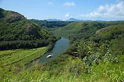 Smiths boat tour, Wailua River, Kauai, Hawaii