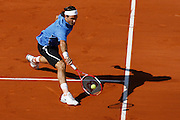 Roland Garros. Paris, France. June 6th 2006..Roger Federer against Mario Ancic during the 1/4 finals.