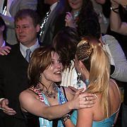 NLD/Hilversum/20080301 - Finale Idols 2008, familieleden van winnares Nikki