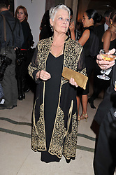 DAME JUDI DENCH at the Harper's Bazaar Women of the Year Awards 2011 held at Claridge's, Brook Street, London on 7th November 2011.
