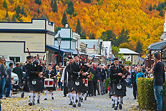 Arrowtown-Autumn backdrop for ANZAC Parade