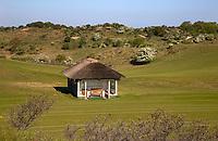 WASSENAAR / Den Haag - schuilhut Koninklijke Haagsche Golf Club    COPYRIGHT KOEN SUYK