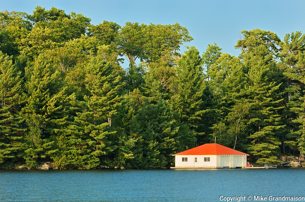 Boathouse, Minett, Ontario, Canada