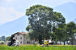 June 17, 2018 - Gommiswald, Suisse - BELLINZONA, SWITZERLAND - JUNE 17 : PORTE Richie (AUS)  of BMC Racing Team during stage 9 of the Tour de Suisse cycling race, an individual time trial of 34 kms between Bellinzona and Bellinzona on June 17, 2018 in Bellinzona, Switzerland, 17/06/2018 (Credit Image: © Panoramic via ZUMA Press)