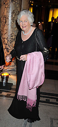MARY WESTON at a dinner to celebrate the opening of 'Maharaja - The Spendour of India's Royal Courts' an exhbition at the V&A, London on 6th October 2009.