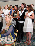 **EXCLUSIVE**.Tamara Beckwith, guest, Richard Haines, Tara Smith..Ella Krasner's Lunch to Benefit AMEND..Sponsored by David Morris..2010 Cannes Film Festival..Hotel Du Cap..Cap D'Antibes, France..Monday, May 17, 2010..Photo ByCelebrityVibe.com.To license this image please call (212) 410 5354; or Email:CelebrityVibe@gmail.com ;.website: www.CelebrityVibe.com.