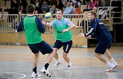 Luka Zvizej at Open training session for the public of Slovenian handball National Men team before European Championships Austria 2010, on December 27, 2009, in Terme Olimia, Podcetrtek, Slovenia.  (Photo by Vid Ponikvar / Sportida)