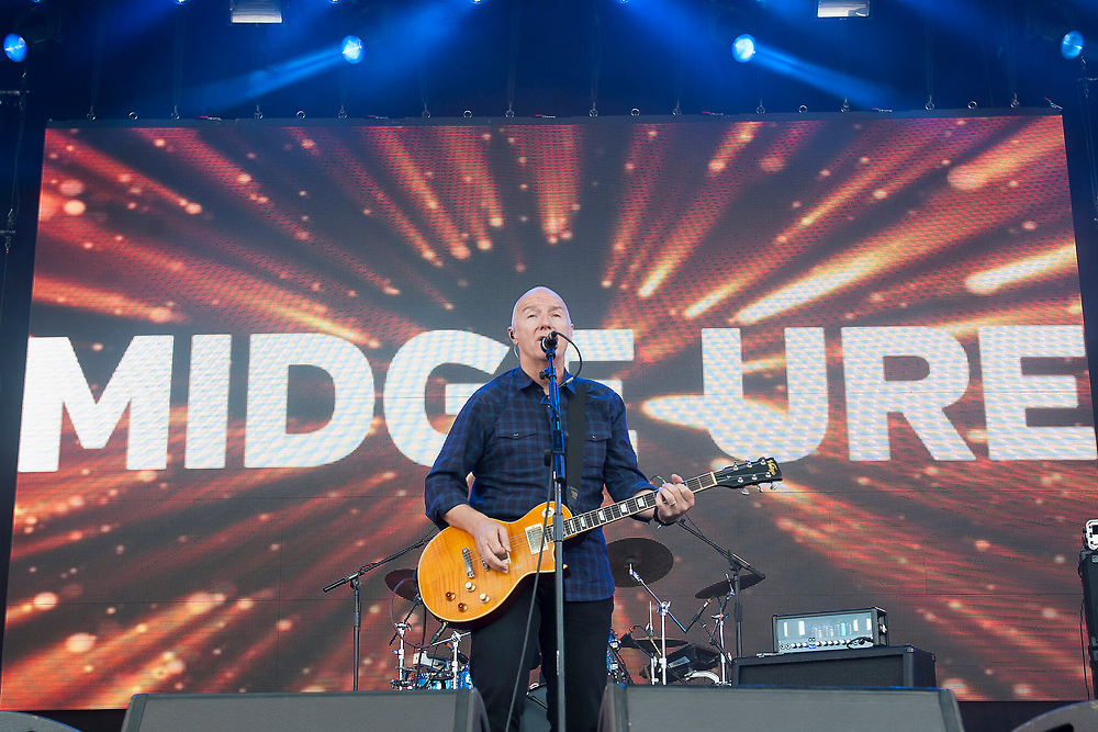 Midge Are in concert at Lets Rock Scotland, Dalkeith Country Park, Edinburgh, Great Britain 23rd June 2018