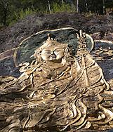 Guru Rinpoche, roadside shrine