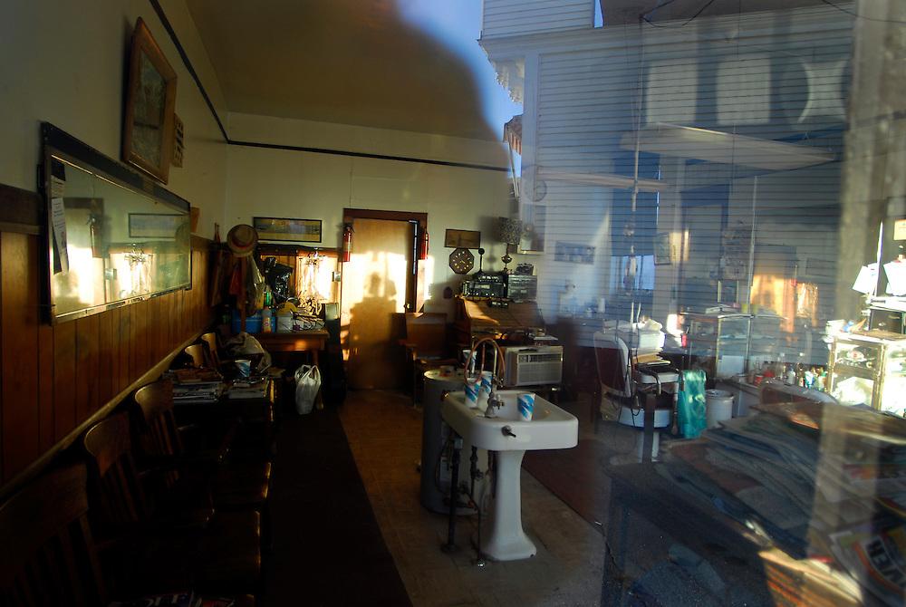 Rowe's Barber Shop, Brandon, Vermont.