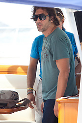 27.09.2011, Korcula, CRO, Actor Javier Bardem is seen on the island Korcula, Croatia. He accompanied his wife Penelope Cruz on the movie set on Korcula. The couple is staying in a luxury villa with a pool, surrounded by the old olive grove. EXPA Pictures © 2011, PhotoCredit: EXPA/ nph/ Pixsell +++++ ATTENTION - OUT OF GERMANY/(GER), CROATIA/(CRO), BELGIAN/(BEL) +++++