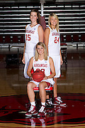 University of Arkansas Razorback 2010-2011 Women's Basketball Team action photos<br /> <br /> <br /> <br /> ©Wesley Hitt<br /> All Rights Reserved<br /> 501-258-0920