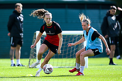 Charlie Welling and Flo Allen of Bristol City Women during training at Failand - Mandatory by-line: Robbie Stephenson/JMP - 26/09/2019 - FOOTBALL - Failand Training Ground - Bristol, England - Bristol City Women Training