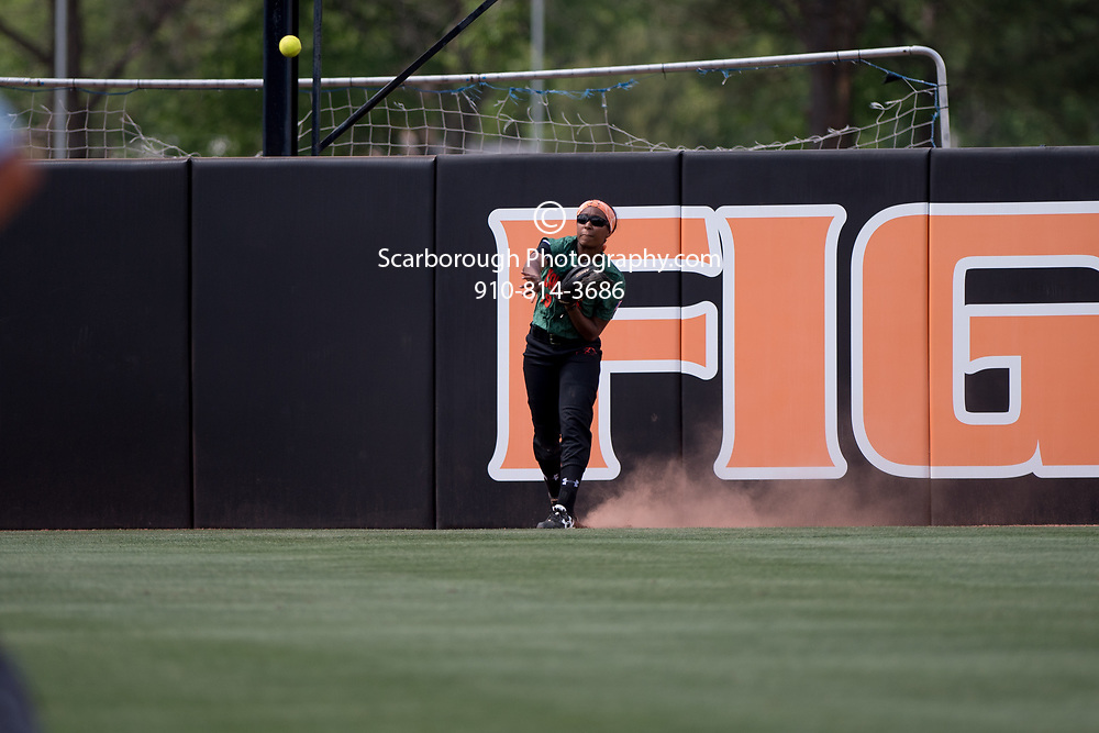 BUIES CREEK, NC - April 22nd, 2017 Campbell University Softball vs Gardner Webb