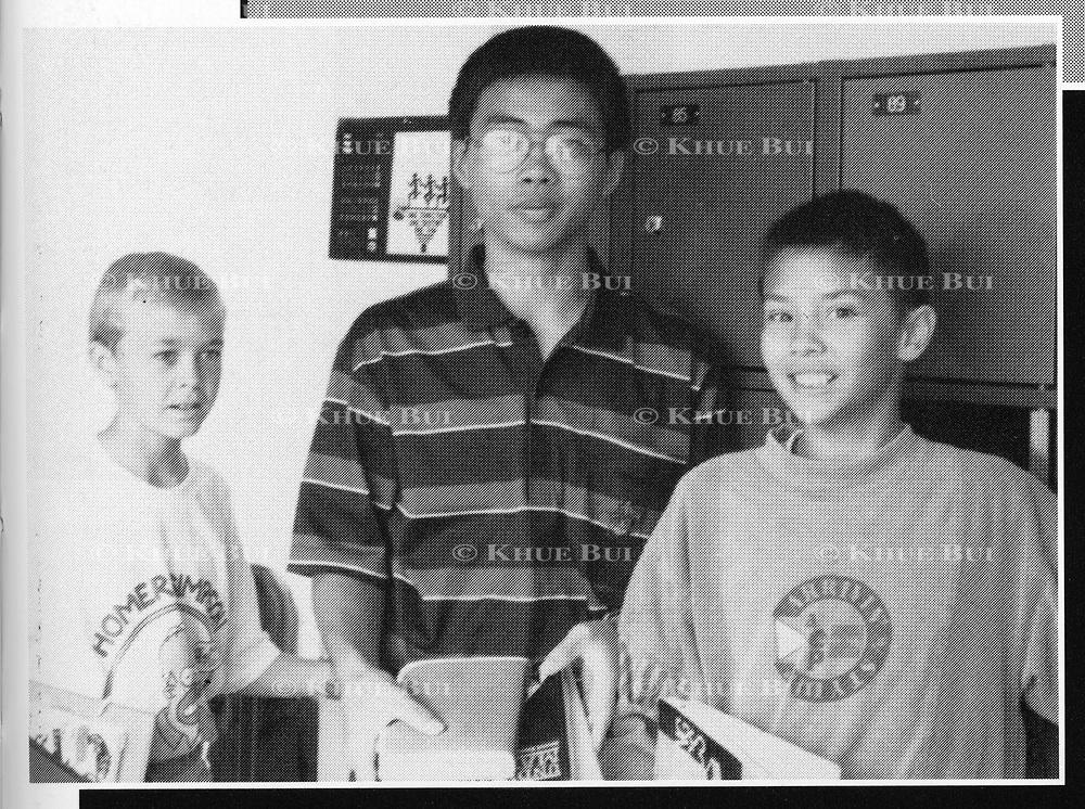 POSSIBLY Kwang-Tschol Mun is shown in the International School of Berne in Switzerland yearbook photo, Odyssey 1995.  Kwang-Tschol is believed to be the minder for the two youngest sons of Kim Jong-il, leader of North Korea.