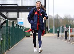 Rosella Ayane of Bristol City arrives prior to kick-off- Mandatory by-line: Nizaam Jones/JMP- 31/03/2019 - FOOTBALL - Stoke Gifford Stadium - Bristol, England - Bristol City Women v Reading Women - FA Women's Super League 1