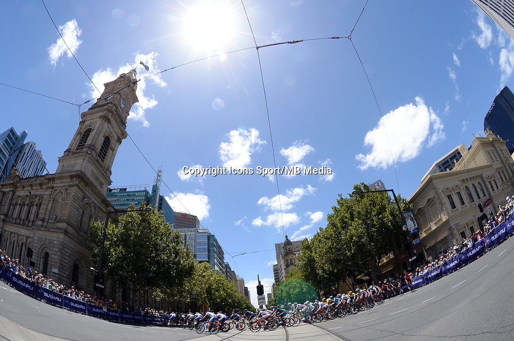 Illustration Peloton   - 25.01.2015 -  Etape 06 du Tour Down Under 2015<br />