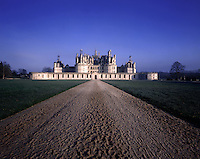 AA00387-02...FRANCE - Chateau de Chambord is the largest of the Loire Valley chateaus.