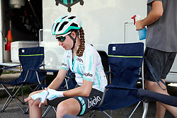 Nikola Noskova (CZE) at Stage 3 of 2019 Giro Rosa Iccrea, a 104.7 km road race from Sagliano Micca to Piedicavallo, Italy on July 7, 2019. Photo by Sean Robinson/velofocus.com