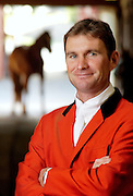 Phillip Dutton, who is now a member of the US Equestrian Team, moved to the United States to train in a more internationally competitive environment, and to prepare for the 1996 Olympics in Athens, at which he was a member of Australia's Gold Medal Three-day Eventing Team. Since his move to the U.S., Phillip has represented Australia in three Olympics and four World Championships. He is very active on the U.S. eventing circuit, winning the USEA Leading Rider of the Year title in 1998, and 2000, 2001, 2002, 2003, 2004 and 2005. In 2005 he was also the number one FEI World Event Rider.Phillip manages and trains out of True Prospect Farm, in West Grove, Pennsylvania.(Photography by Jim Graham)
