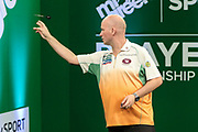 Jamie Caven during the PDC Darts Players Championship at  at Butlins Minehead, Minehead, United Kingdom on 24 November 2017. Photo by Shane Healey.