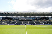 Stadium MK  during the Sky Bet Championship match between Milton Keynes Dons and Brentford at stadium:mk, Milton Keynes, England on 23 April 2016. Photo by Dennis Goodwin.