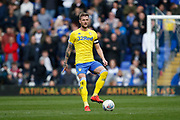 Leeds United defender Liam Cooper (6)  during the EFL Sky Bet Championship match between Birmingham City and Leeds United at St Andrews, Birmingham, England on 6 April 2019.