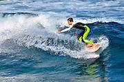 Tenerife, Canary Islands, Santa Cruz surfer