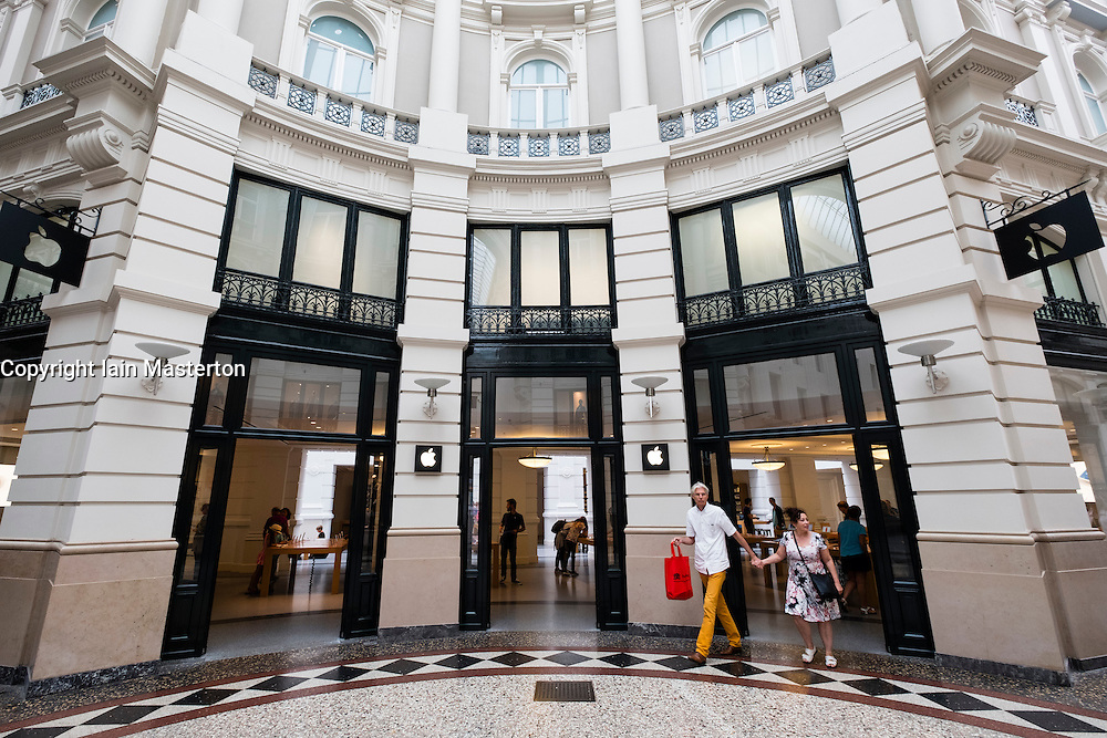 Apple Store within Passage shopping arcade in The Hague, Netherlands