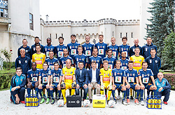 30.06.2017, Wolfsberg, AUT, 1. FBL, RZ Pellets WAC, Fototermin, im Bild die Mannschaft des RC Pellets WAC vor Schloss Wolfsberg // during the official Team and Portrait Photoshooting of Austrian Bundesliga Club RZ Pellets WAC at the Wolfsberg, Austria on 2017/06/30. EXPA Pictures © 2017, PhotoCredit: EXPA/ Johann Groder