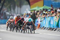 SCARONI Susannah, USA, T52/53/54 Marathon at Rio 2016 Paralympic Games, Brazil