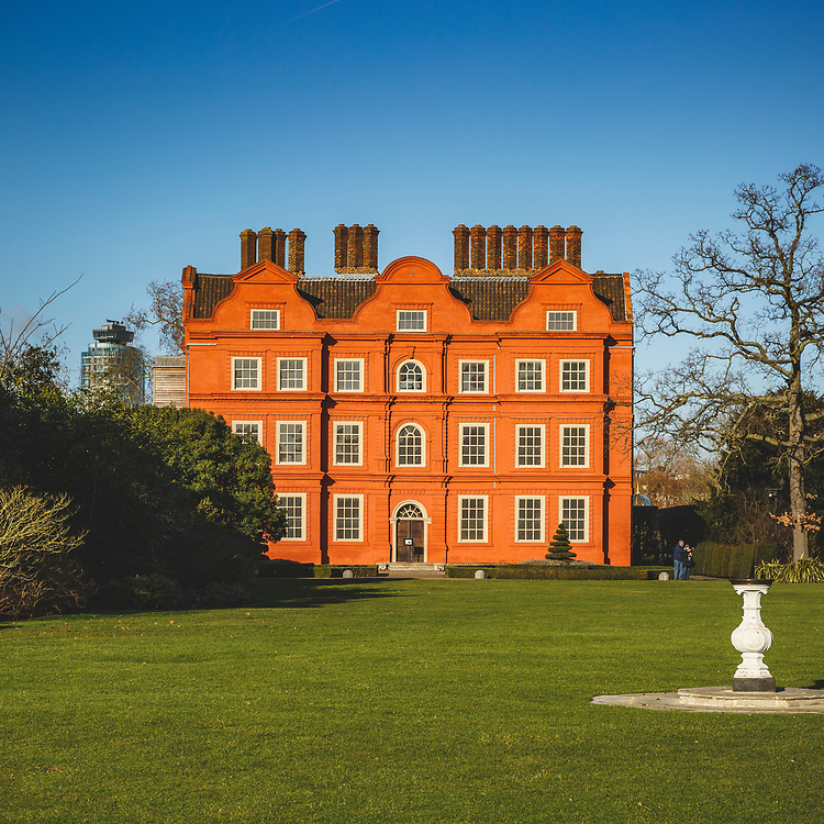 Kew Palace. Built in 1631 and later became the summer home of King George III, one of the lesser known royal residences in London.