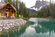 Emerald Lake at Yoho National Park Alberta Canada