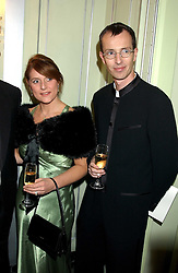 MARTIN & ZOE HARRIS he is the son of Lord Harris of Peckham at the Dyslexia Awards Dinner attended by HRH The Countess of Wessex held at The Dorchester Hotel, Park Lane, London on 9th November 2005.<br />