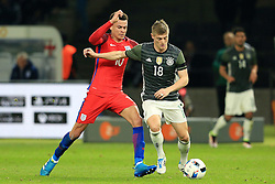 England's Dele Alli closes down Germany's Toni Kroos - Mandatory by-line: Matt McNulty/JMP - 26/03/2016 - FOOTBALL - Olympiastadion - Berlin, Germany - Germany v England - International Friendly