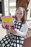 03/06/2013 The Galway Education Centre kicked off its annual Education Extravaganza with the 12th annual Write A Book Awards ceremony. Over 8,000 young authors wrote books in Irish and English for this years event. All of the prize winners attending have composed, written, illustrated and bound their own individual books. During the next three days over 3,000 school children from all over Ireland will come to Galway to spectate and compete in various educational and fun challenges and competitions. <br /> Lauren Ni Choirbin with her book &quot;Bronntanais a chuaigh ar Strae&quot; was at the Radisson blu hotel , Galway to receive her award. Picture : Andrew Downes