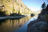 Main Salmon River, Idaho Rafting Photos - Idaho rafting stock photography