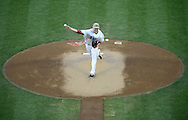 PHOENIX, AZ - MAY 27:  Pitcher Trevor Cahill #35 of the Arizona Diamondbacks pitches against the Texas Rangers in the first inning of an interleague game at Chase Field on May 27, 2013 in Phoenix, Arizona.  The Diamondbacks defeated the Rangers 5-4.  (Photo by Jennifer Stewart/Getty Images) *** Local Caption *** Trevor Cahill