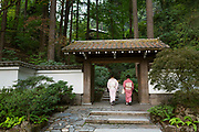 The entrance of the Portland Japanese Garden.<br /> Photo: Christina Sjogren
