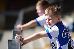 Bristol Rovers fan - Photo mandatory by-line: Dougie Allward/JMP - Mobile: 07966 386802 - 31/03/2015 - SPORT - Football - Bristol - Memorial Stadium - Vanarama Football Conference - Bristol Rovers Open Training Session