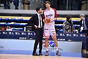 Vigori Alessandro<br /> FIAT Torino - Grissin Bon Reggio Emilia<br /> Lega Basket Serie A 2018-2019<br /> Torino 03/02/2019<br /> Foto M.Matta/Ciamillo & Castoria