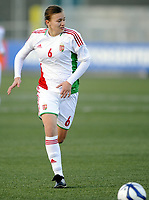 Fotball / Football<br /> 04.04.2013<br /> UEFA WU19, Second Qualifying Round<br /> Norge v Ungarn<br /> Norway v Hungary<br /> Foto: Morten Olsen, Digitalsport<br /> <br /> Regina Kokany (6) - Hungary