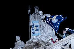 May 15, 2019 - Roma, Italia - Foto Carlo Lannutti/LaPresse.15-05 - 2019 Roma, Italia.Cronaca..Finale Coppa Italia  Lazio Atalanta. La festa dopo la vittoria...Nella foto: La festa a piazza del Popolo (Credit Image: © Carlo Lannutti/Lapresse via ZUMA Press)