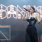 COLUMBIA, MD - May 31, 2015 - Banks performs at the 2015 Sweetlife Festival at Merriweather Post Pavilion in Columbia, MD. (Photo by Kyle Gustafson / For The Washington Post)