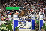 Steve Guerdat - Nino des Buissonnets<br /> Rolex FEI World Cup Final 2013<br /> © DigiShots