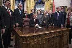 President Trump Signs Anti-Opioid Bill 11 Jan 2018